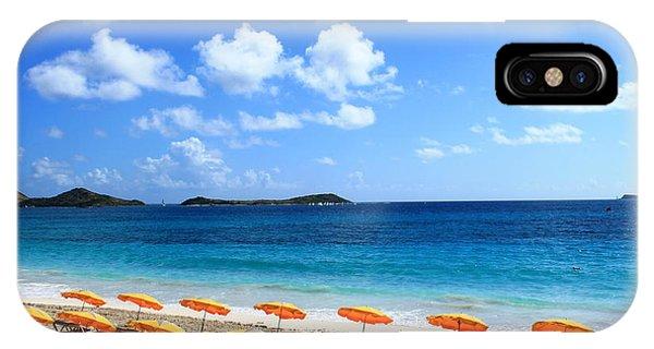 Beach Umbrellas IPhone Case