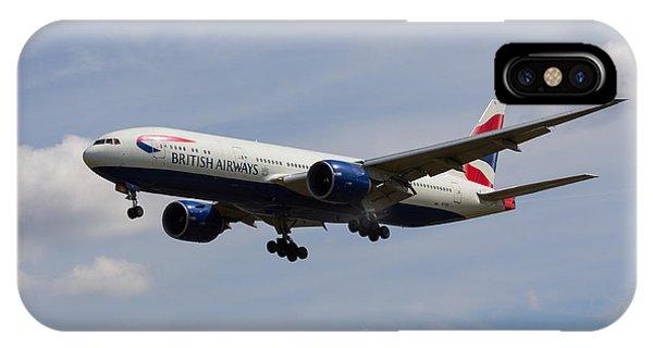 British Airways Boeing 777 IPhone Case