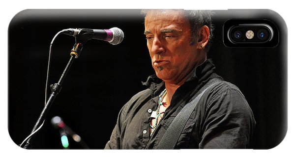 New Jersey iPhone Case - Bruce Springsteen by Jeff Ross