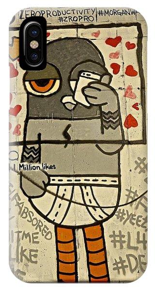 Bushwick Brooklyn Graffitti IPhone Case