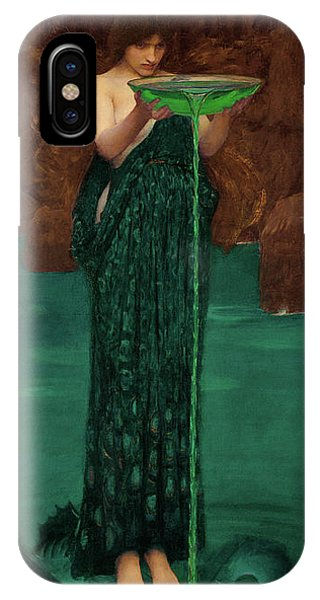 iPhone Case - Circe Invidiosa by John William Waterhouse
