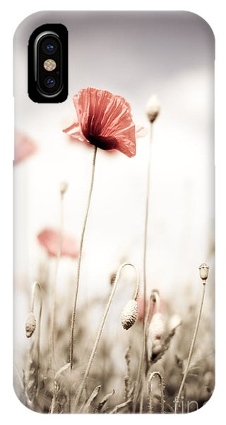 Petals iPhone Case - Corn Poppy Flowers by Nailia Schwarz