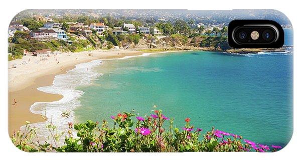 Crescent Bay, Laguna Beach, California IPhone Case