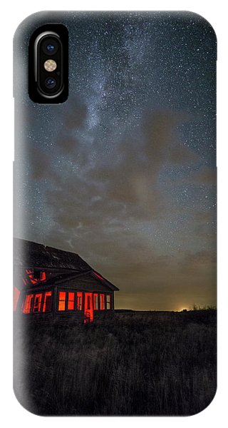 Middle Of Nowhere iPhone Case - Dark Place  by Aaron J Groen