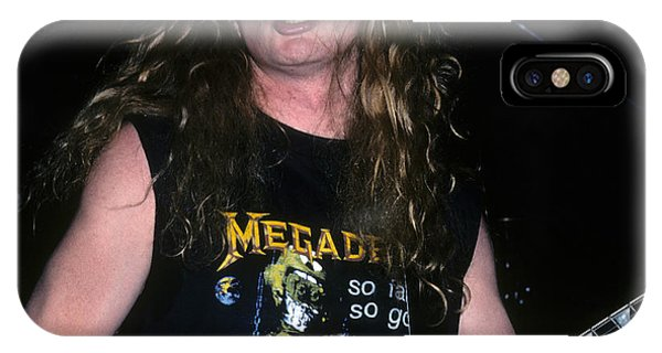 Dave Mustaine Of Megadeth IPhone Case