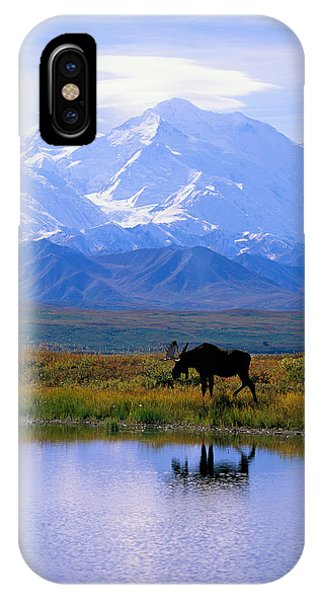 Calm iPhone Case - Denali National Park by John Hyde - Printscapes