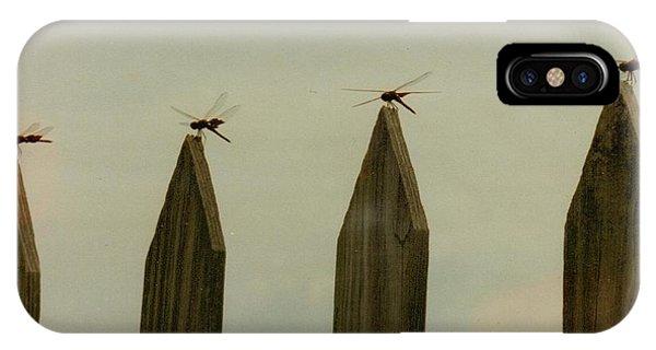 4 Dragon Flies...... IPhone Case