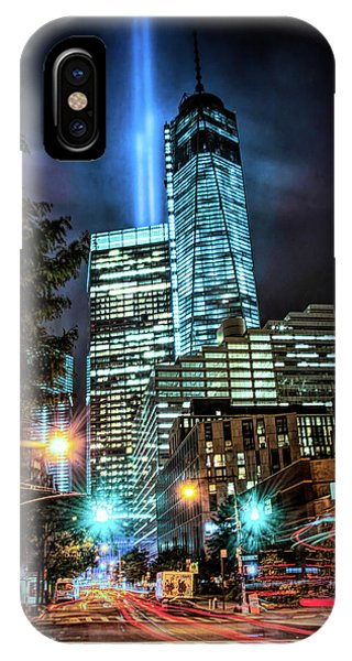 IPhone Case featuring the photograph Freedom Tower by Theodore Jones