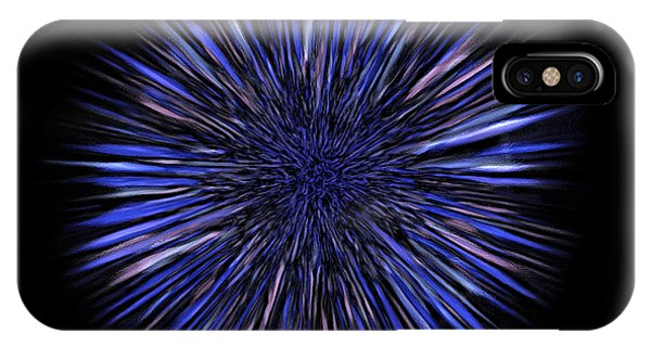 Explosion iPhone X Case - Genome Burst by Martin Krzywinski