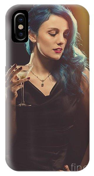 Glamorous Hollywood Style Woman IPhone Case