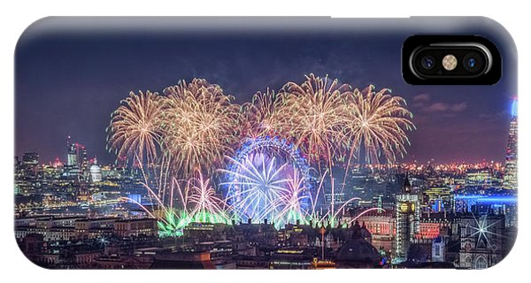 Happy New Year London IPhone Case