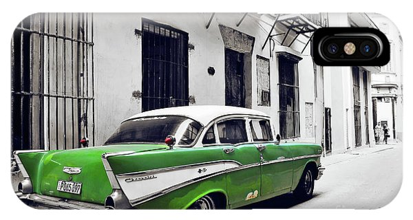iPhone Case - Havana, Cuba - Classic Car by Chris Andruskiewicz