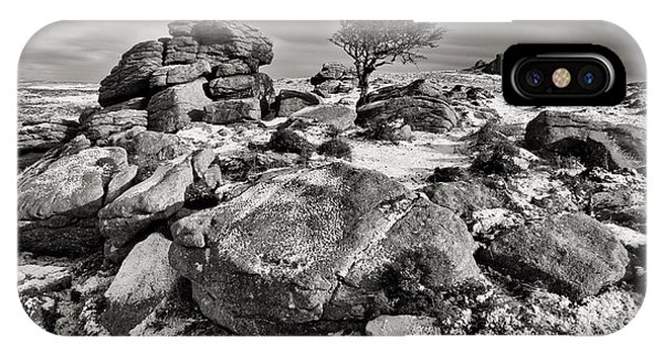 Holwell Tor On Dartmoor IPhone Case