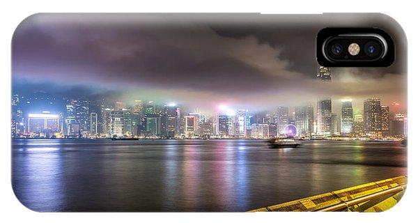 Hong Kong Stunning Skyline IPhone Case