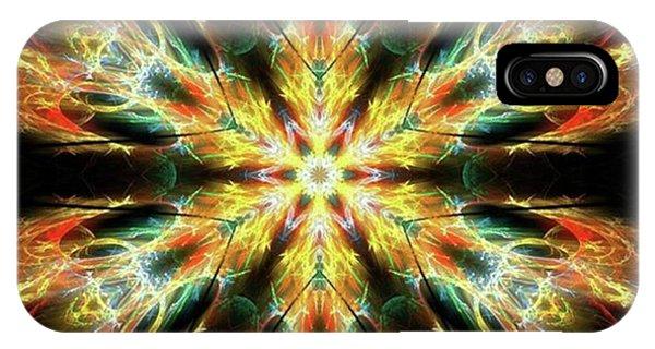 #kaleidoscope #mandala #art #digitalart Phone Case by Michal Dunaj