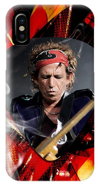 Keith Richards Art IPhone Case