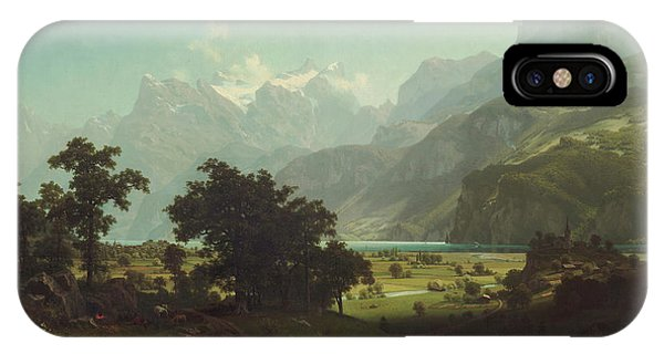 Lake Lucerne IPhone Case
