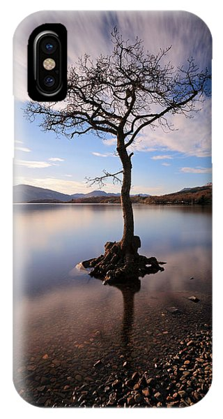 Loch Lomond Tree IPhone Case