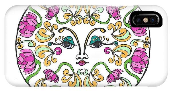Lotus Princess IPhone Case