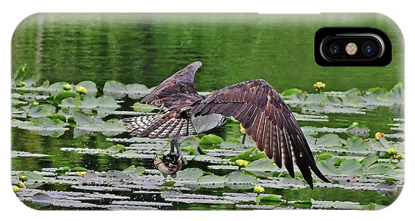Osprey Fishing IPhone Case