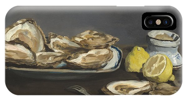 1862 iPhone Case - Oysters by Edouard Manet