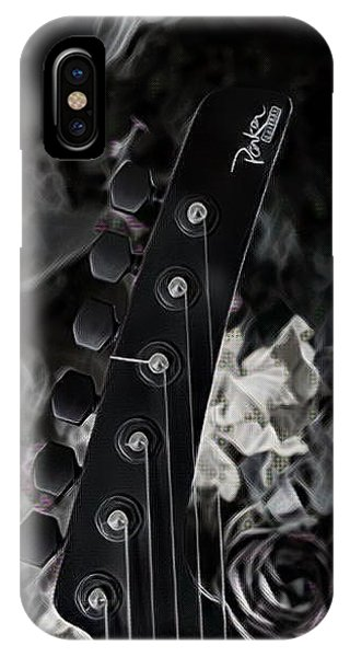 Parker Fly Guitar Headstock IPhone Case