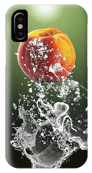 Peach Splash IPhone Case
