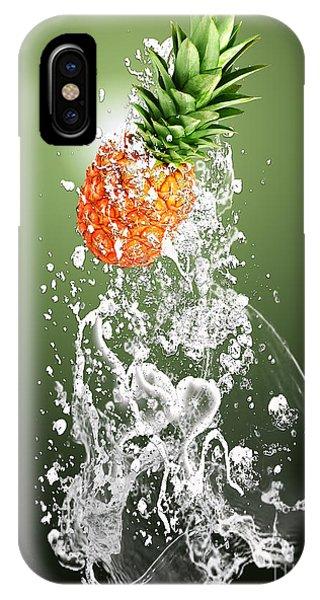 Pineapple Splash IPhone Case
