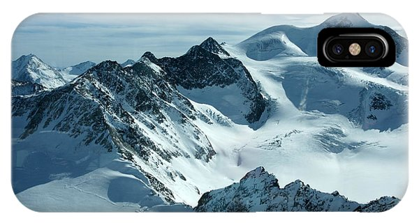 Pitztal Glacier IPhone Case