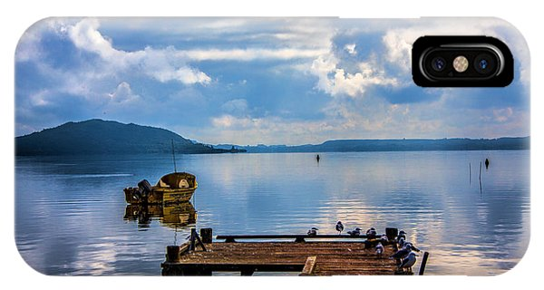 Quiet Lake IPhone Case