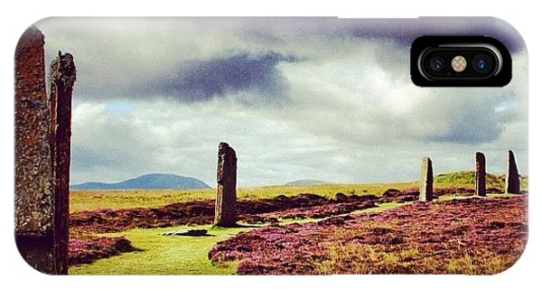 Travel iPhone Case - Ring Of Brodgar by Luisa Azzolini