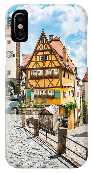 Rothenburg Ob Der Tauber IPhone Case