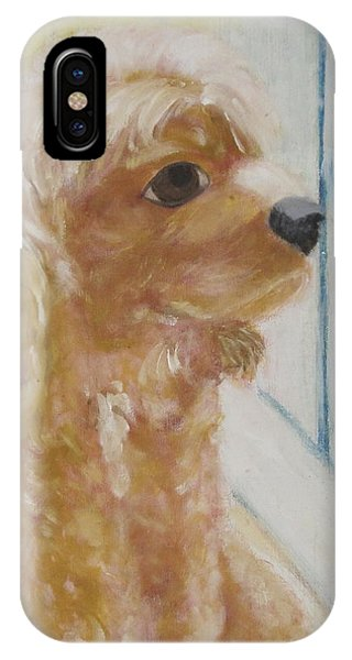 Rusty Aka Digger Dog IPhone Case