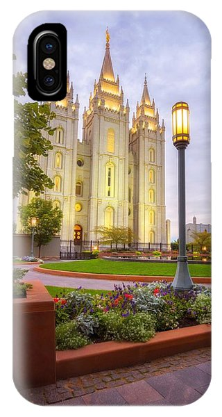 Salt Lake Temple IPhone Case