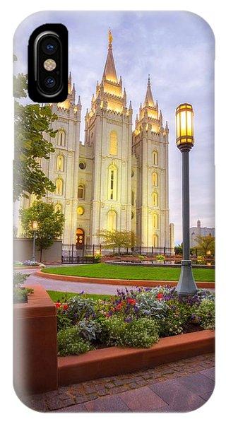 Salt Lake Temple IPhone Case