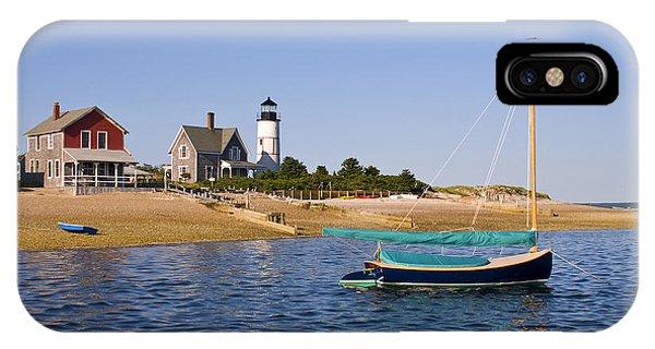 Sandy Neck Lighthouse IPhone Case