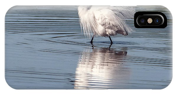 IPhone Case featuring the photograph Snowy Egret by Tam Ryan