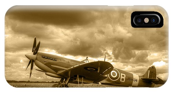 Spitfire Mk Ixb IPhone Case