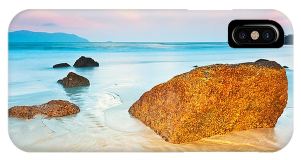 Ocean iPhone Case - Sunrise by MotHaiBaPhoto Prints