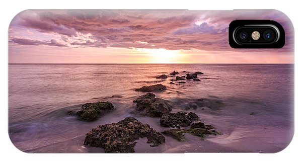 Sunset Naples Beach Florida IPhone Case