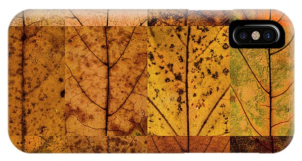 Swatches - Autumn Leaves Inspired By Gerhard Richter IPhone Case