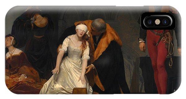 French Painter iPhone Case - The Execution Of Lady Jane Grey by Paul Delaroche