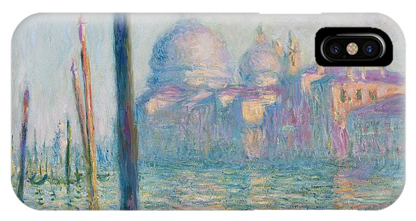 French Painter iPhone Case - The Grand Canal  by Claude Monet
