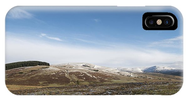 The Ochil Hills IPhone Case