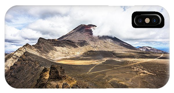 Tongariro Alpine Crossing In New Zealand IPhone Case
