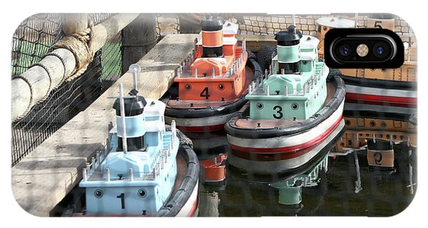 4 Toy Boats IPhone Case