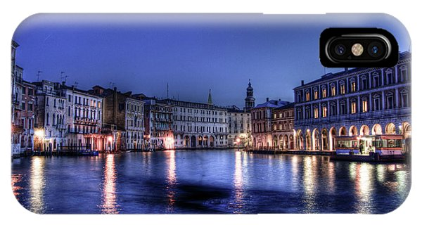 Venice By Night IPhone Case