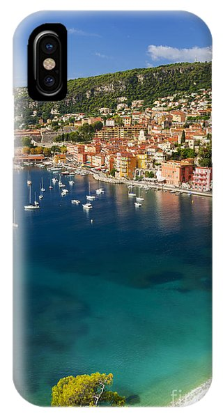 French Riviera iPhone Case - Villefranche-sur-mer View On French Riviera by Elena Elisseeva