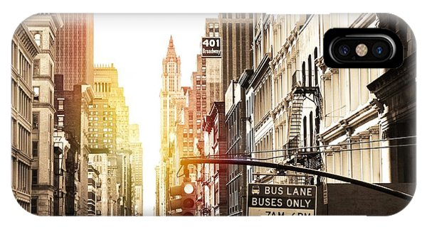 401 Broadway IPhone Case