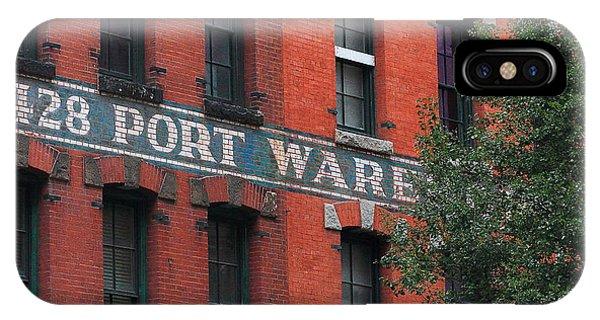 428 Port Warehouse IPhone Case